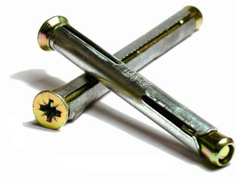 Металлические винтовые анкера
