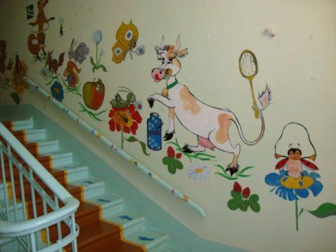 Ограждения безопасности для детей на лестницу