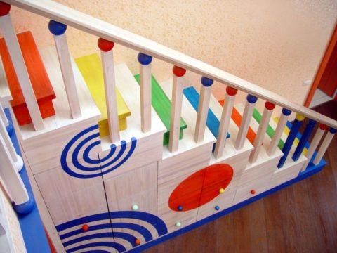 Ограждения для детей на лестницу – главное условие исключения детского травматизма
