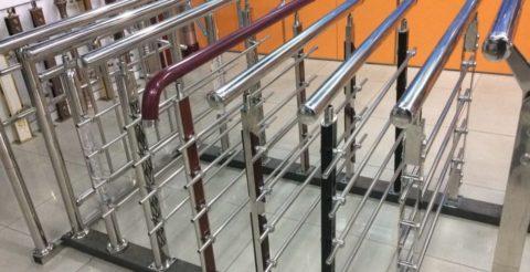 Сборные перила для лестницы из железа