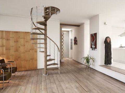 Какой проем для лестницы на второй этаж необходим – совсем небольшой!
