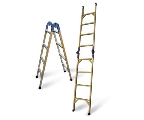 Лестницы приставные разборные