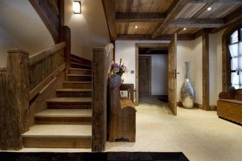 Лестницы стиль шале