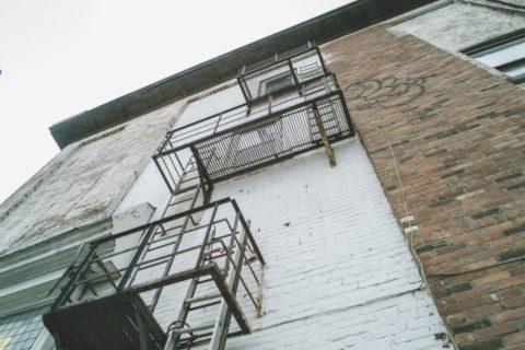 Лестницы в нежилом строении