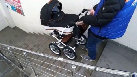 Модель с большими колесами