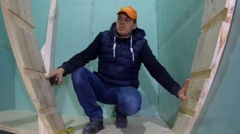 Лестница своими руками для дачи: завершение сборки