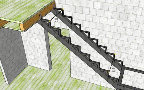 Надежное крепление лестницы – залог ее безопасности