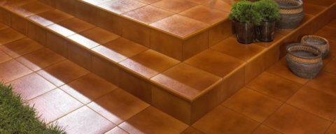 Облицовка ступеней плиткой – идеальный вариант оформления лестницы