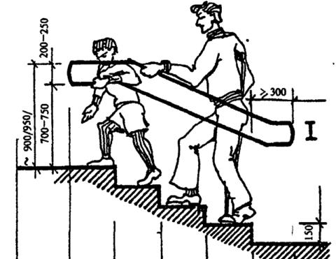 Пользоваться лестницей должно быть удобно и взрослым, и детям