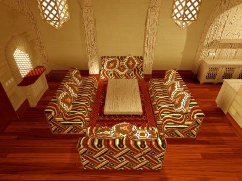 Пример современного воплощения берберского стиля – простота и практичность
