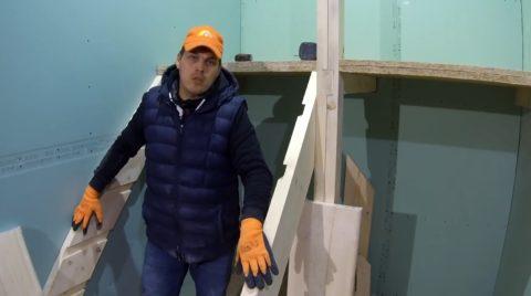 Строим лестницу своими руками на даче