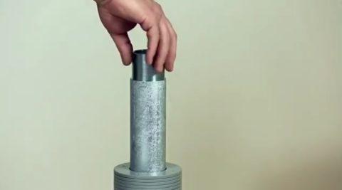 Установка соединительного элемента
