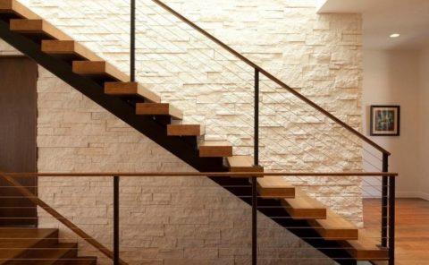Лестница с комфортным уклоном
