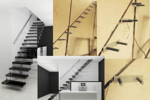 На фото показано устройство консольной лестницы