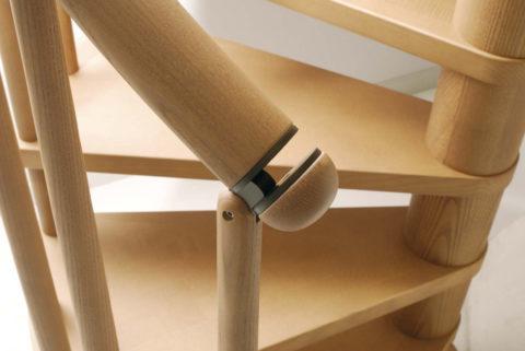 Ограждение модульной лестницы