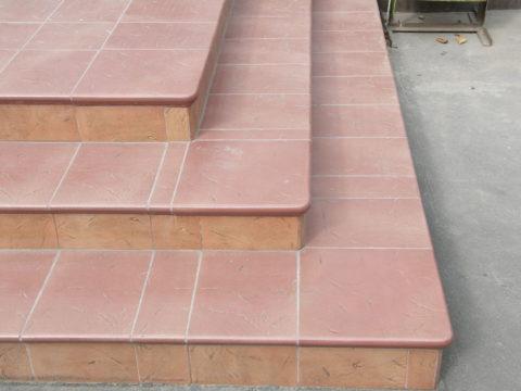 Уложенная на бетон клинкерная плитка неубиваема