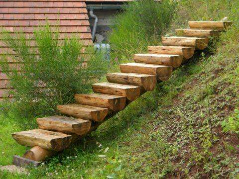 Изготовление ступеней для лестницы