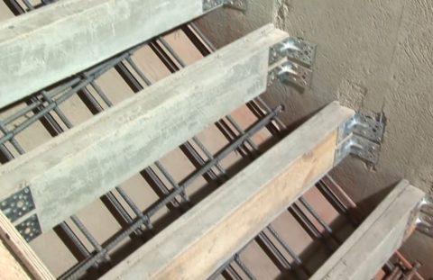Элементы бетонной лестницы – опалубка неотъемлемая часть при строительстве