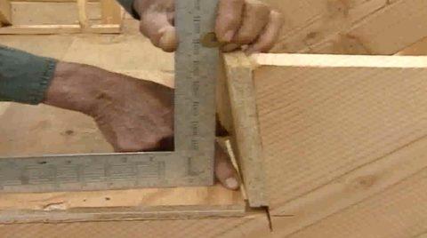 Лестница на косоурах деревянная – скошенные подступенки