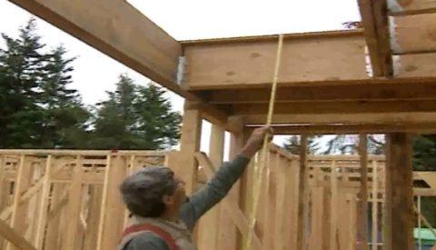 Расчет косоура лестницы деревянной требует точных замеров