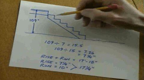 Размер косоура для деревянной лестницы – такой чертеж можно нарисовать за 5 минут