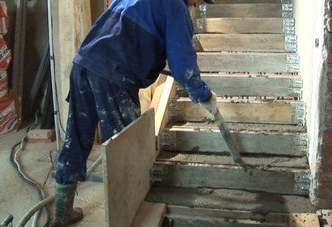 Вибрирование бетона