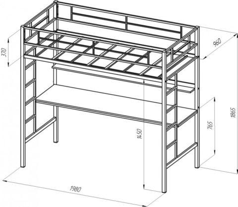 С размерами конструкции нужно определиться заранее, чтобы понять, какая лестница к ней подойдет