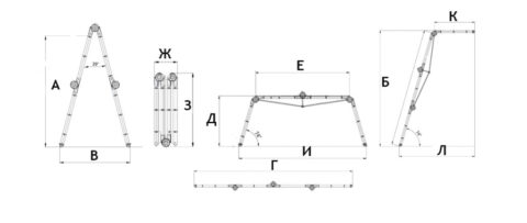 Схема для определения основных параметров