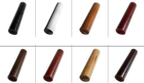 Образцы разного цвета