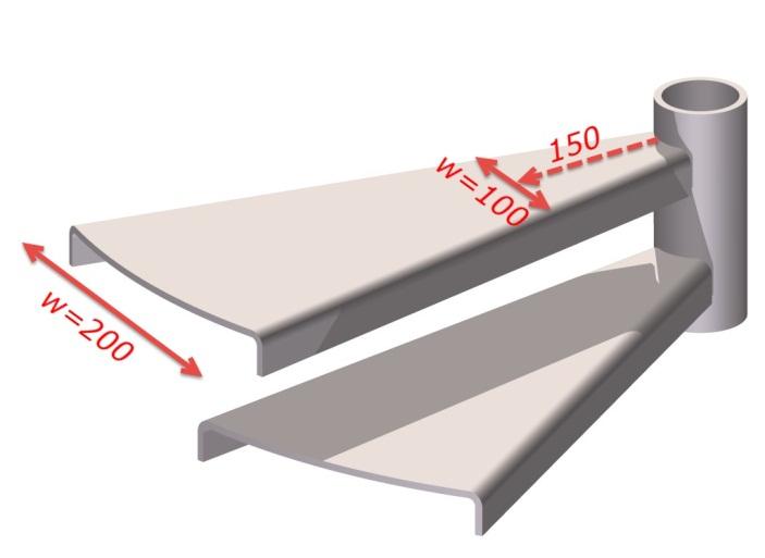 Идеальная ширина клиновидных ступеней лестницы в частном доме