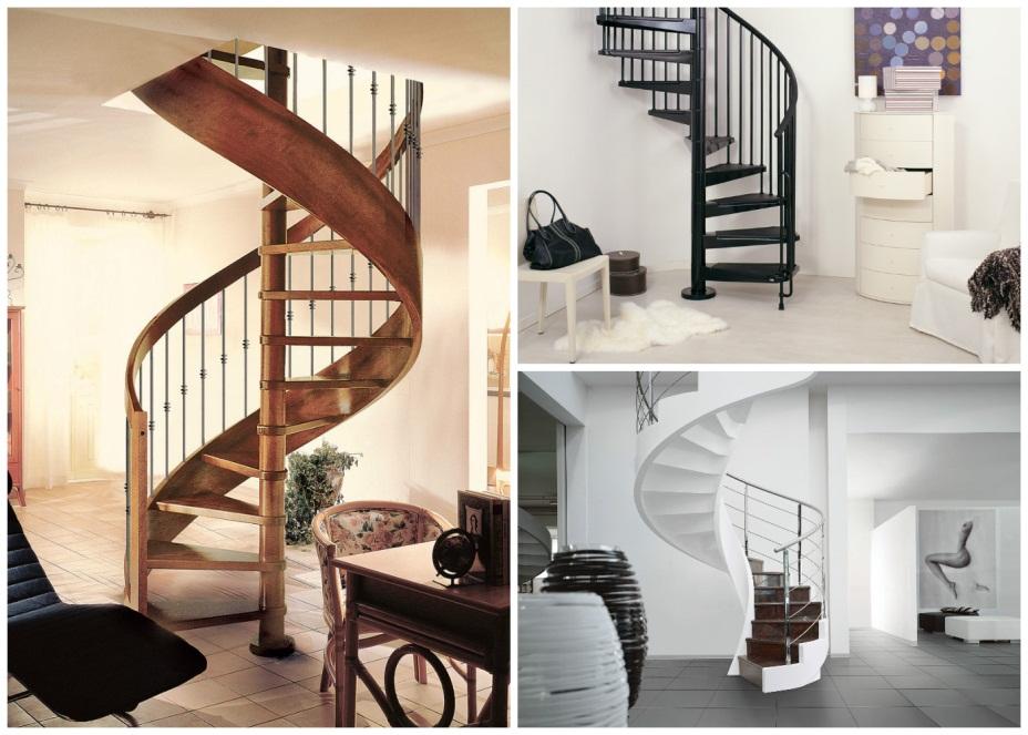 Лестницы красивые, но крайне неудобные для хождения