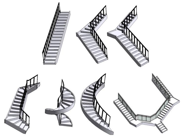 Конфигурации лестниц